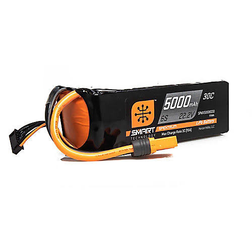 Spektrum Smart Lipo Battery - 22.2v, 5000mah