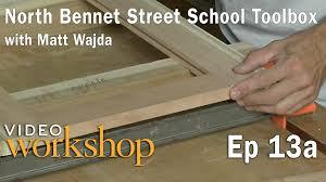 Tool Box Style Dresser by The North Bennet Street Toolbox With Matt Wajda