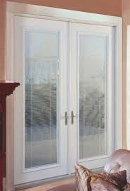 French Patio Doors With Internal Blinds by Patio Doors With Built In Blinds Is A Door The Intended For French