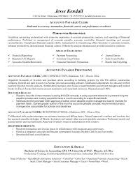 Sample Resume Objective For Accounting Position Clerk Suiteblounge Com