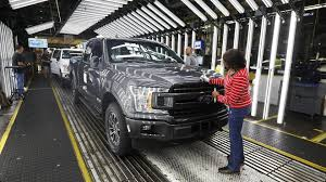 Beige Book Report Shows Economy Still Solid As Workers Gain Greater ... Michigan Supplier Fire Idles 4000 At Ford Truck Plant In Dearborn Tops Resurgent Us Car Industry 2013 Sales Results Show The Could Reopen Two Plants Next Friday F150 Chassis Go Through Assembly Fords Video Inside Resigned To See How The 2015 F Announces Plan To Cut Production Save Costs Photos And Ripping Up History Truck Doors For Allnew Await Takes Costly Gamble On Launch Of Its Pickup Toledo Blade Plant Vision Sustainable Manufacturing Restarts Production