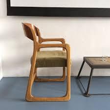 chaise traineau baumann fauteuil traineau baumann 2 boutique brocante de la bruyère