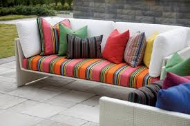 Outdoor Furniture Cushions Sunbrella Fabric by Sunbrella European Icon Collection