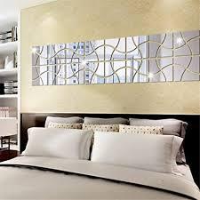 xyl home 3d geometrische spiegel wand schlafzimmer