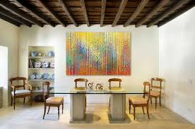 Luxurious Wall Art For Dining Rooms Large Abstract Canvas