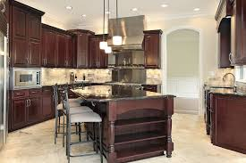 Incredible Cherry Wood Cabinets Kitchen And Dark Cherry Cabinets