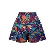 bright u0026 beautiful jane tropical pineapple shorts bright
