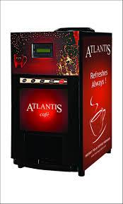 Atlantis Cafe Mini 2 Lane Tea And Coffee Vending Machine Sale