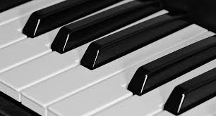 Piano Keyboard Keys Music Instrument Black