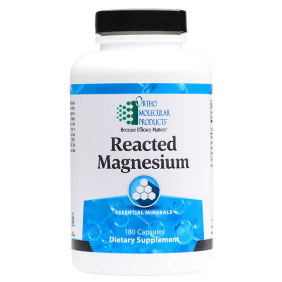 Ortho Molecular Products Reacted Magnesium Dietary Supplement - 180ct