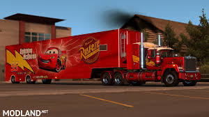 Pixar's Mack Truck And Trailer Skin Mod For American Truck Simulator ... Amazoncom Cars Mack Truck Playset Toys Games Disney Pixar Cars Movie Exclusive Talking Transporter With No 95 Metal Free Mcqueen Car 86 In Trouble Train Cartoon For And Race Trucks Color Jerry Trucks Reviews News Pixars Truck Trailer Skin Mod American Simulator Disneypixar Walmartcom The Another Cake Collaboration My Husband Pink Tour Is Back To Bring More Highoctane Fun