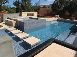 glass tile pool designs The Glass Pool Tile Concept for Your
