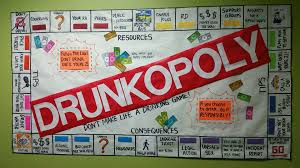 Drunkopoly Life Is NOT A Drinking Game