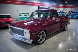 100 Stepside Trucks 1971 Chevrolet C10 Crown Concepts