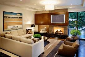 Beige Sectional Living Room Ideas by Comfy Beige Sectional Sofa Square Glossy Smooth Dark Brown Coffee