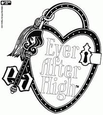 Ever After High Pets Colouring Pages