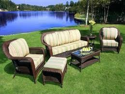Resin Wicker Outdoor Furniture Syntic Resin Wicker Outdoor