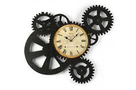 horloge cuisine pas cher ordinaire cuisine d ete exterieur 8 horloge murale engrenage 51 x
