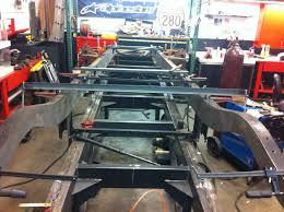 100 Truck Frame Repair Boxing In A Classic Truck Chassis On The Frame Jig Shop Jigs