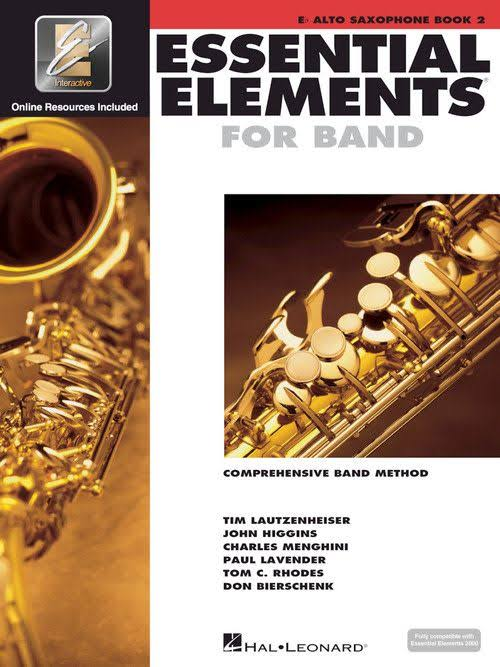 Essential Elements For Band Book 2: Eb Alto Saxophone