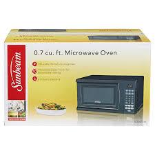 Watts Floor Drain Extension by Sunbeam 7 Cf 700 Watt Microwave Oven Black Meijer Com