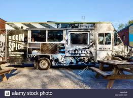 The Riddim N Spice Food Truck Parked In The 5 Points District In ...