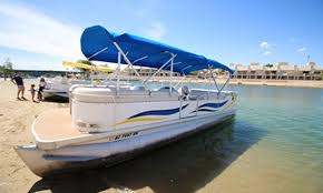 Aqua Patio Pontoon Bimini Top by Aqua Patio Pontoon Rental In Lake Havasu City Getmyboat