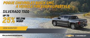 Pogue Chevrolet Buick GMC In Powderly | Serving Central City ...