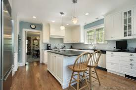 white kitchen cabinets blue walls kitchen and decor