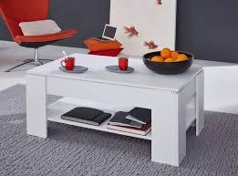 couchtisch wohnzimmer tisch klappbar esstisch weiß mit lift funktion höhe 48 70 cm