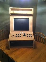 Arcade Cabinet Plans Metric by Mame Arcade Bartop Cabinet Plans Scifihits Com
