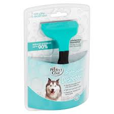 Dog Hair Shedding Blade by Perfect Coat Deshedding Tool For Dogs Of All Sizes Walmart Com