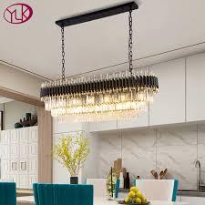 youlaike moderne kristall kronleuchter für esszimmer luxus