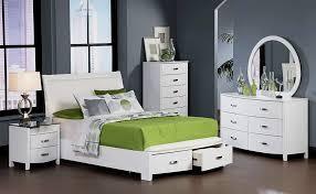 Platform Bedroom Set with Storage Carlisle