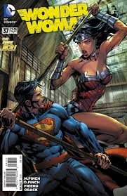 DC Preview Its The FINCHs Second At Bat In WONDER WOMAN 37