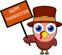 turky showing banner thanksgiving menu clipart Size 70 Kb