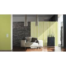 a s creation vliestapete brigitte home streifen grün