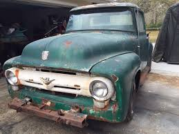 1956 Ford F100 F-100 Project Truck Hot Rod Rat Rod Hotrod Ratrod ... Used 1956 Ford F100 460 Big Block Auto Ac Ps Pb Pw Rotisserie For Sale Near Cadillac Michigan 49601 Classics On Bbw Custom Cab Pickupreal Back Window Truckdo Picking This Up Saturday Truck Enthusiasts Forums Pin By Michael Schmber Michaels 56 Pinterest Bodie Stroud Restomod Is Lovers Dream 1957 Chevy Trucks Chevy Cameo M2 Machines Projects 164 Pickup Black Sale Classiccarscom Cc993085 Flatbed The Barn