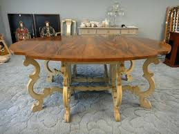 French Provincial Dining Table Baker Round Brisbane