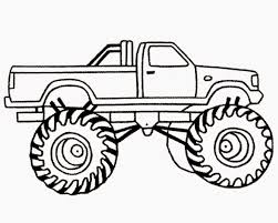 Unique Coloring Pages Trucks Free Printable Monster Truck For Kids ...