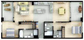 104 Two Bedroom Apartment Design Typical Layout Download Scientific Diagram