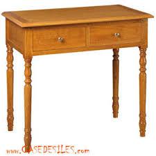 petit bureau en bois bureau colonial bois massif cagnard 3098ch