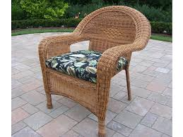 Cream With Armset Wicker Patio Set For Vintage Decor