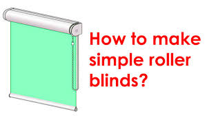 Vinyl Roll Up Patio Shades by How To Make A Roller Blind Youtube