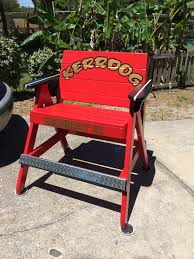 Beach Lifeguard Chair Plans by Custom Fireman Lifeguard Chair Lifeguard Chairs Custom Made By
