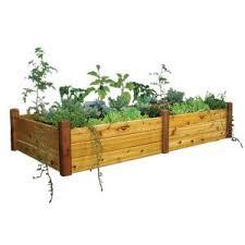gronomics 48 in x 95 in x 19 in raised garden bed rgbt 48 95
