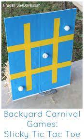 Backyard Carnival Games For Kids: Sticky Tic Tac Toe | Backyard ... 25 Tutorials For A Diy Carnival The New Home Ec Games 231 Best Summer Images On Pinterest Look At The Hours Of Fun Your Box Could Provide With Game Top Theme Party Games For Your Kids Backyard Lollipop Tree Game Put Dot Sticks Some Manjus Eating Delights Carnival Themed Birthday Manav Turns 4 240 Ideas Dunk Tank Fun Summer Acvities Outdoor Parties And Best Scoo Doo Images Photo With How To Throw Martha Stewart Wedding Photography By Vince Carla Circus