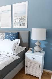 unser neues schlafzimmer und eine lösung für die blaue wand