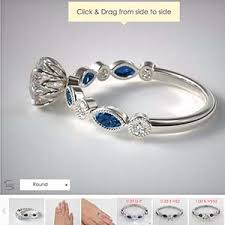 Vintage Style Popular Engagement Rings Sapphire And Diamond James Allen