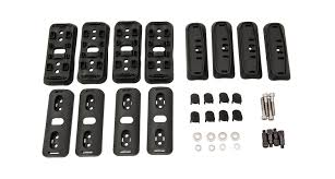 100 Discount Hitch And Truck Accessories RhinoRack RCP46BK RCP Base Kit X4